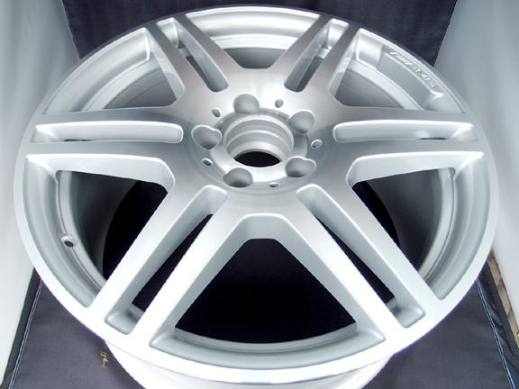 AMG純正ホイール ホイール修理&再ダイヤモンドカット